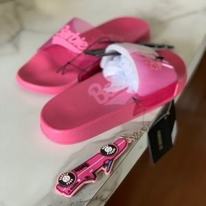 "Barbie Pink Slides ""NEW"""